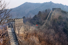 Grande Muraille de la Chine Photos stock