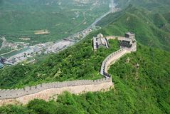 Grande Muraille de la Chine Photos stock