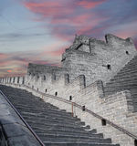 Grande Muraille de la Chine, au nord de Pékin Photo stock