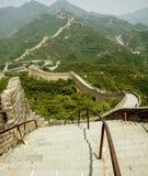 Grande Muraille de la Chine au printemps images stock