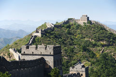 Grande Muraille de la Chine chez Jinshanling Photographie stock