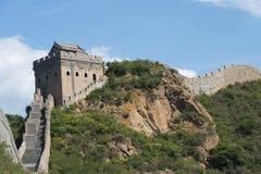 Grande Muraille de la Chine chez Jinshanling Images libres de droits
