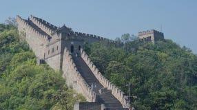 Grande Muraille de la Chine en ?t? photographie stock