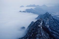 Grande Muraille de la Chine-Jiankou images libres de droits