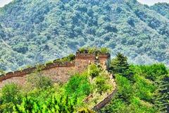 Grande Muraille de la Chine, section Photographie stock