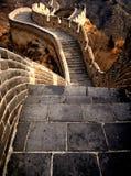 Grande Muraille de la Chine sur Sunny Day Photographie stock libre de droits
