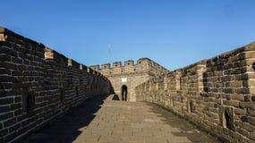 Grande Muraille de Mutianyu Photo libre de droits