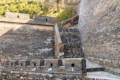 Grande Muraille de passage de Yanmen, Shanxi, Chine images stock