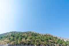 Grande Muraille de passage de Yanmen, Shanxi, Chine photographie stock