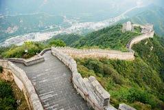 Grande Muraille de porcelaine Photographie stock libre de droits