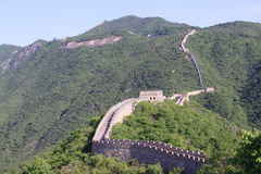 Grande Muraille de porcelaine Image stock