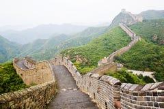 Grande Muraille de porcelaine Image libre de droits