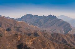 Grande Muraille de porcelaine dans jinshanling Photo libre de droits