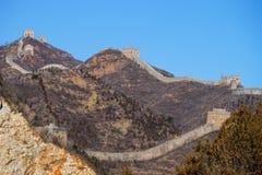 Grande Muraille de Simatai photo libre de droits