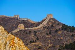 Grande Muraille de Simatai images libres de droits
