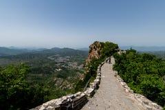 Grande Muraille de Simatai près de ville de l'eau de gubei dans Pékin Chine, G photographie stock