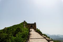 Grande Muraille de Simatai près de ville de l'eau de gubei dans Pékin Chine, G images stock
