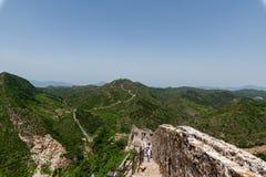 Grande Muraille de Simatai près de ville de l'eau de gubei dans Pékin Chine, G photographie stock libre de droits