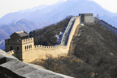 Grande Muraille en Chine photo stock