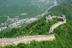 Grande Muraille en Chine Photo libre de droits