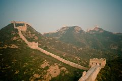 Grande Muralha imagens de stock