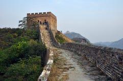 Grande Muralha: Beijing Jinshanling Fotografia de Stock Royalty Free