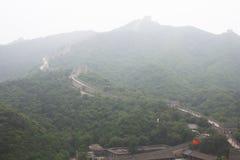 Grande Muralha de Badaling Foto de Stock Royalty Free