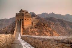 Grande Muralha de China Imagens de Stock