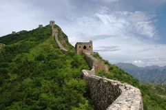Grande Muralha de China Imagens de Stock Royalty Free