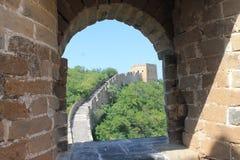 Grande Muralha de China Imagem de Stock