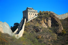 Grande Muralha de China em Beijing fotos de stock royalty free