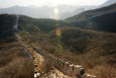 Grande Muralha de Jiankou Fotos de Stock Royalty Free
