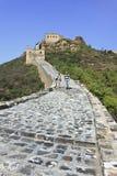 Grande Muralha de Jinshaling, Beijing, China Fotografia de Stock