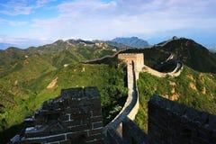 Grande Muralha de Jinshanling Foto de Stock Royalty Free