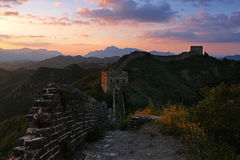 Grande Muralha de Jinshanling foto de stock