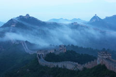 Grande Muralha de Jinshanling fotografia de stock