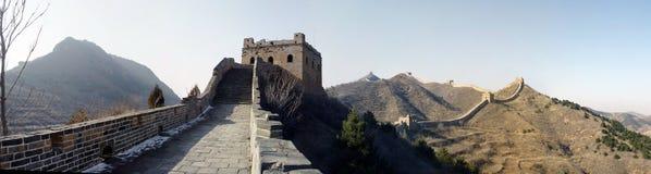 Grande Muralha do Si miliampère TAI foto de stock