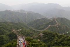 Grande Muralha no Pequim, China Fotos de Stock