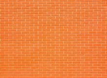 Grande muro di mattoni fotografia stock