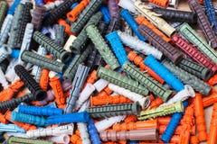 Grande número de passadores coloridos Imagem de Stock