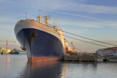 Grande nave Fotografie Stock Libere da Diritti