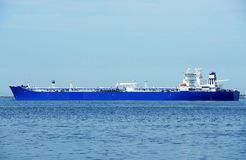 Grande nave commerciale Fotografia Stock