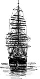 Grande nave di navigazione Fotografia Stock Libera da Diritti