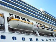 Grande navio de cruzeiros Fotografia de Stock
