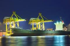 Grande navio de recipiente foto de stock royalty free