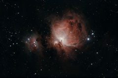 A grande nebulosa de Orion fotografia de stock