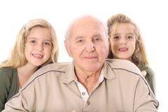 Grande - nonno Fotografia Stock Libera da Diritti