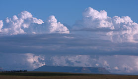 Grande nube Fotografia Stock Libera da Diritti