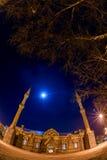 Grande nuit de cathédrale (mosquée de Fethiye) Photo stock