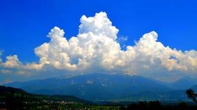Grande nuvola Fotografia Stock